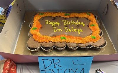 Happy Birthday Dr Tafoya!